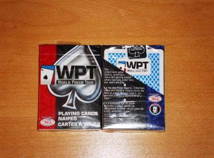 carti de joc world poker tour